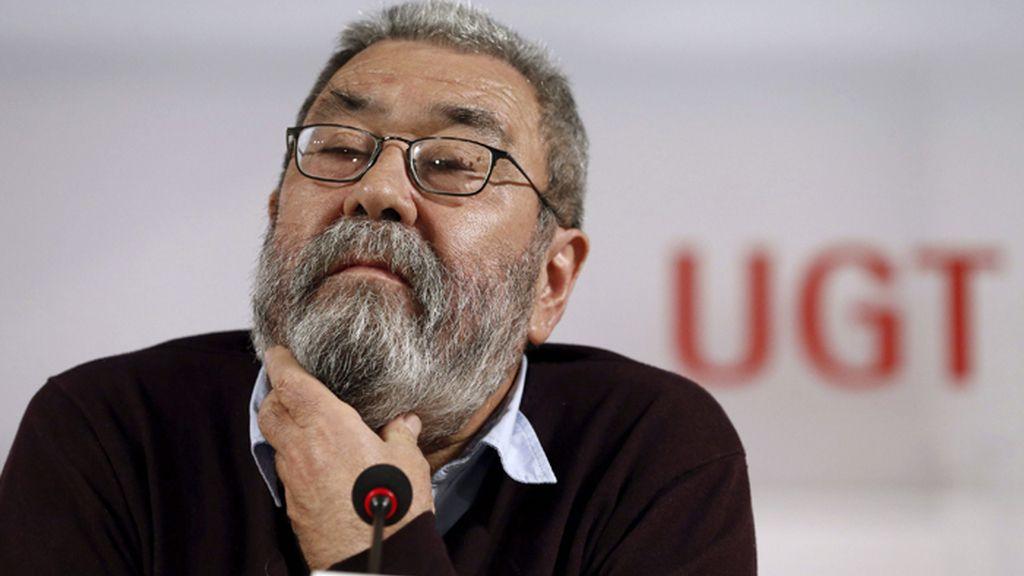 """Cándido Méndez, convencido de que el sindicato en Andalucía """"dará cuentas"""""""
