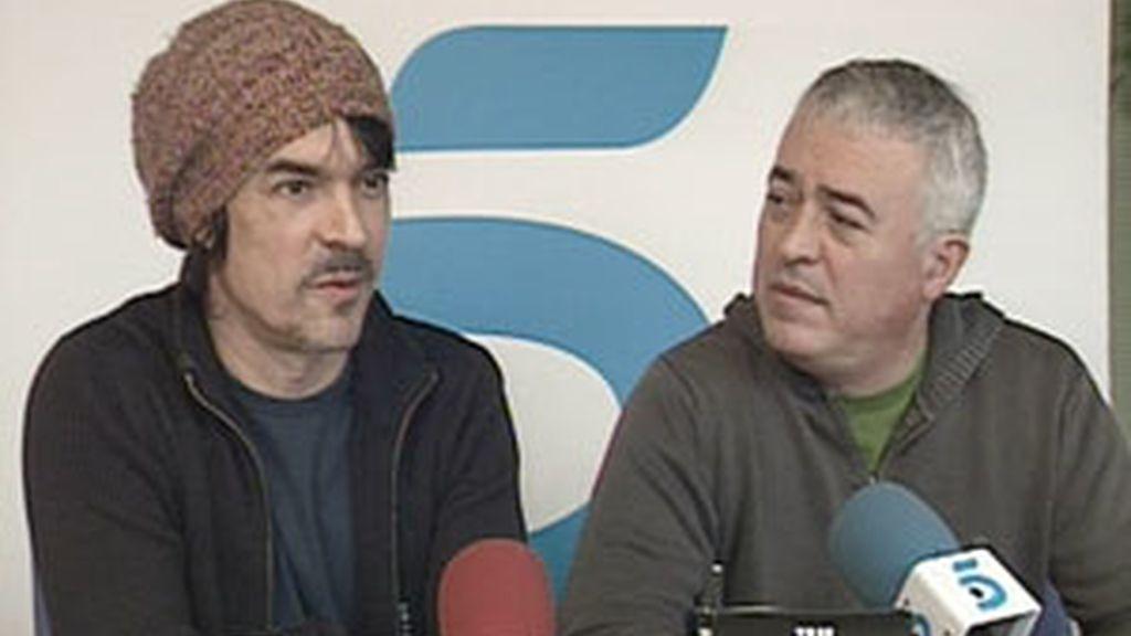 Nacho y Javier Campillo durante el encuentro digital con Informativos Telecinco. Vídeo: Informativos Telecinco