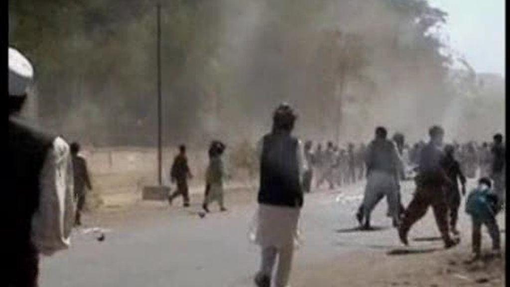 El asesino de los militares españoles podría ser un talibán inflitradio