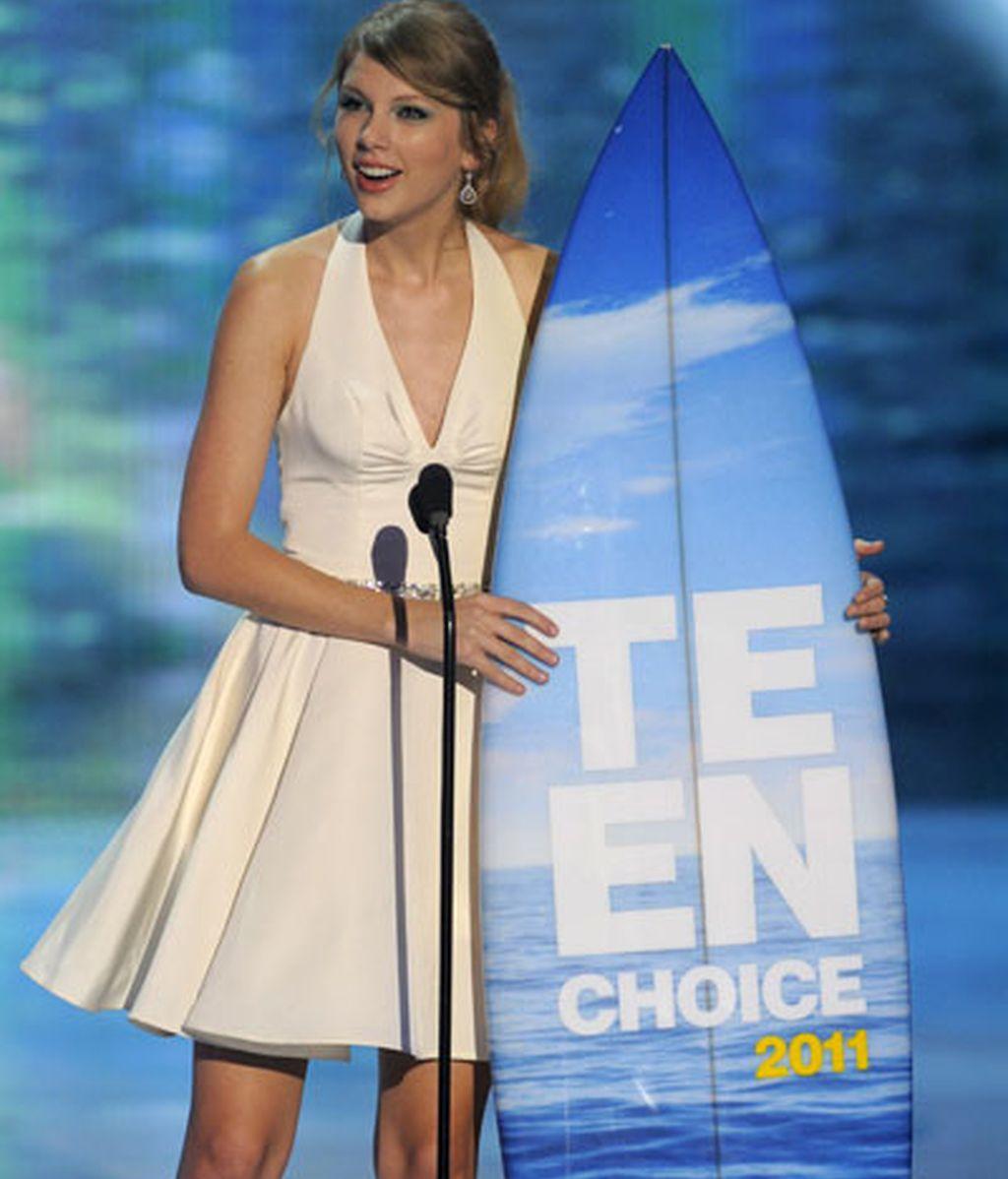 Taylor Swift, premio ha toda su carrera
