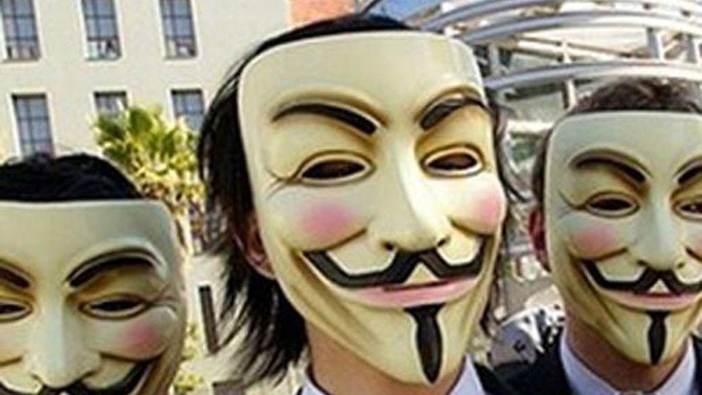 El grupo de ciberactivistas Anonymous realiza acciones a nivel mundial.