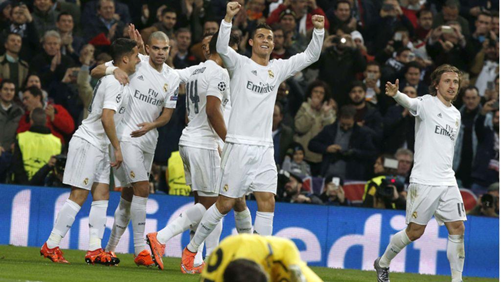 El Real Madrid vence a la Roma