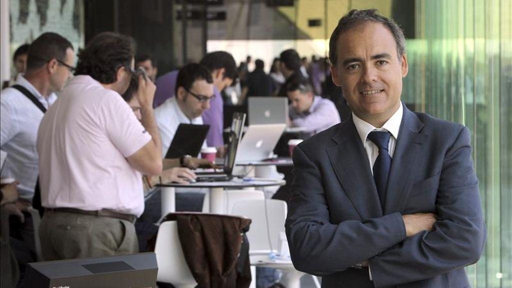 El director general de Google España y Portugal, Javier Rodríguez Zapatero. EFE