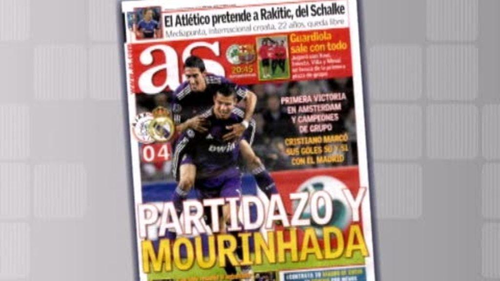 La jugada de Mourinho