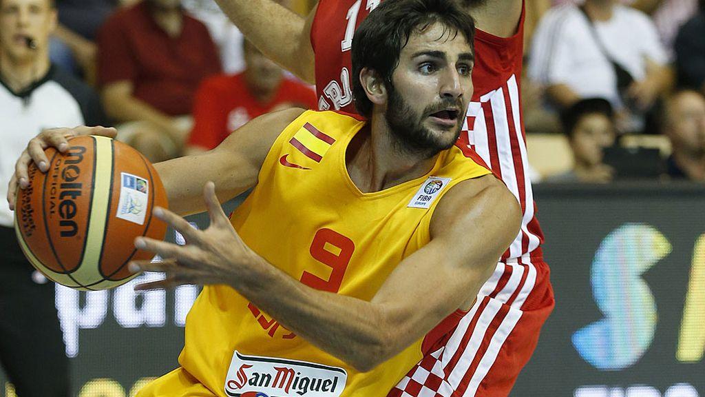 España venció 68-40 a Croacia en el estreno del Eurobasket