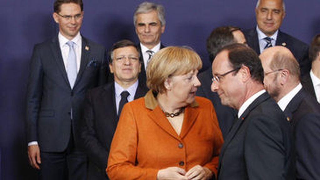 Los jefes de Estado y de Gobierno de la UE se preparan para la foto de familia