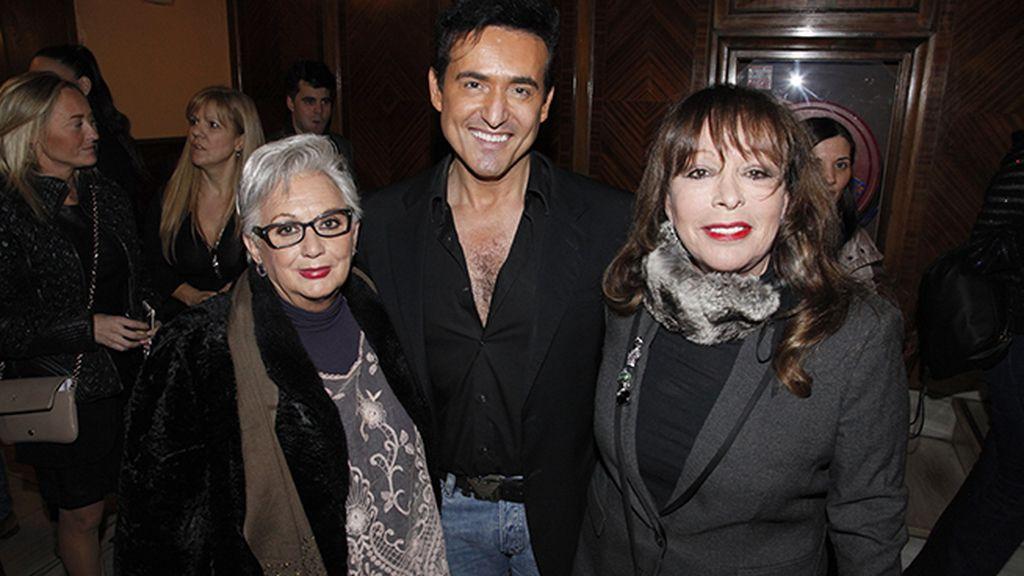 Massiel fue una de las invitadas de lujo al concierto de Carlos Marín