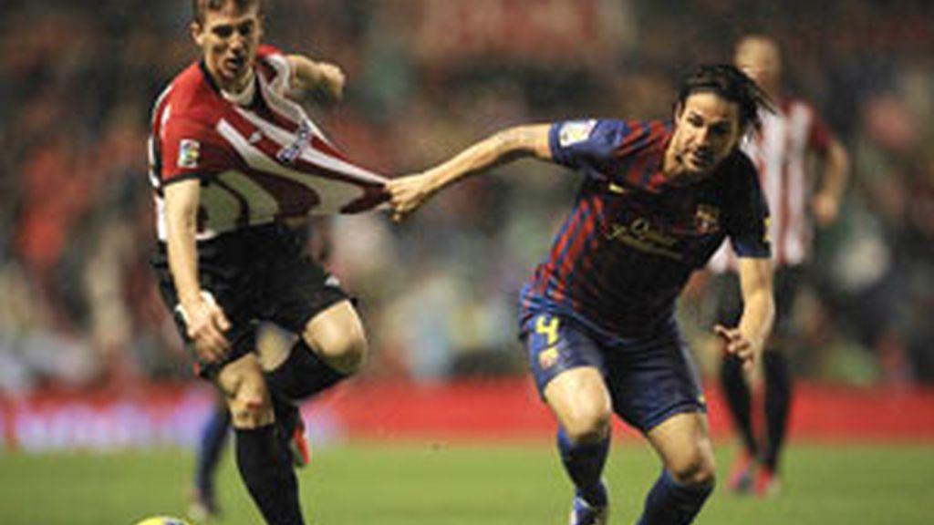 Messi marca la diferencia FOTO: EFE