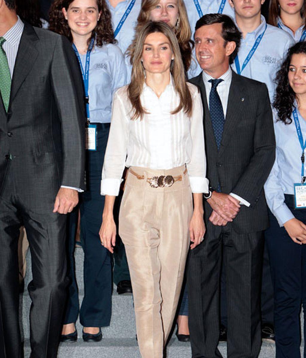 El 'estilo xacobeo' de Doña Letizia