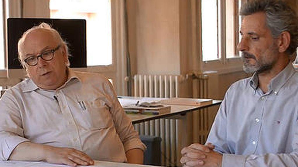 Arquitectos Javier Cenicacelaya e Iñigo Saloña
