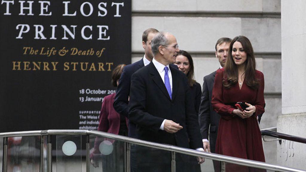 Kate Middleton, hecha un cuadro