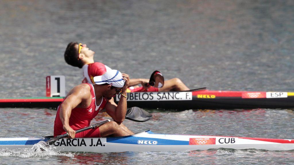 Francisco Cubelos se clasifica para la final de K1 1000 metros