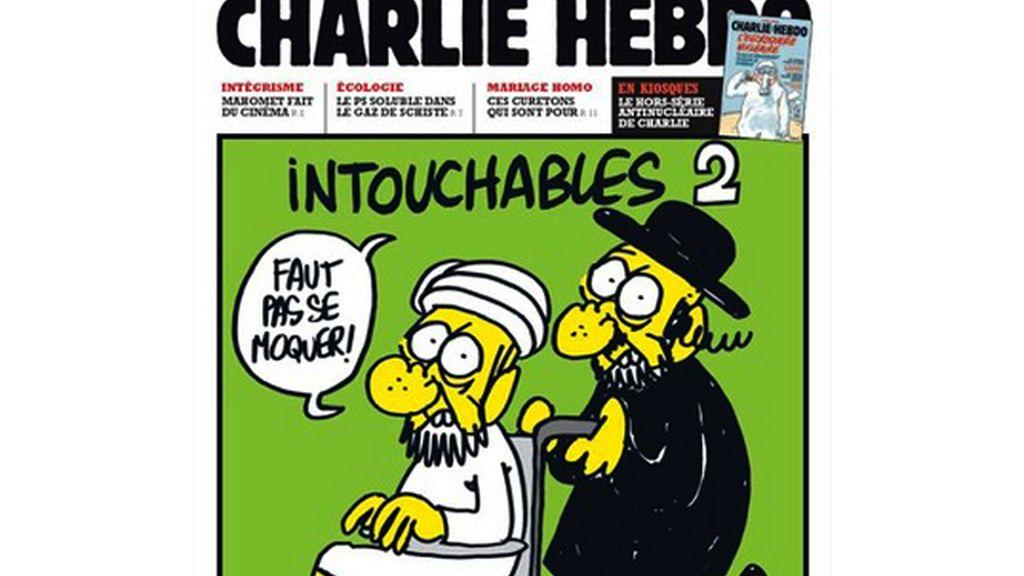"""La caricatura de """"Los intocables"""""""