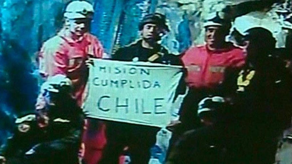 Misión cumplida, Chile