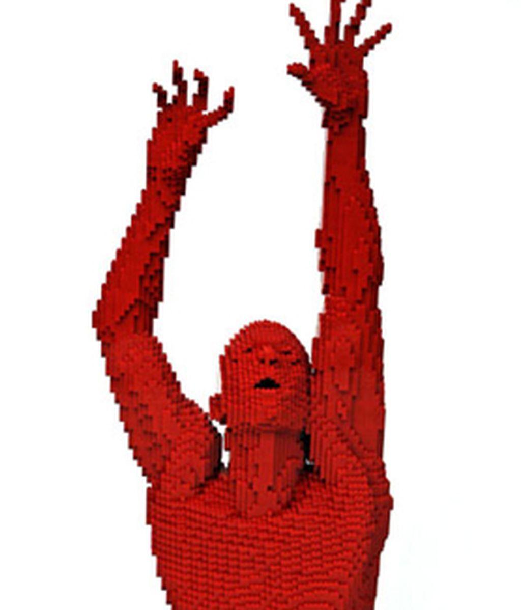 Nathan Sawaya consigue fabricar en Lego figuras de gran realismo