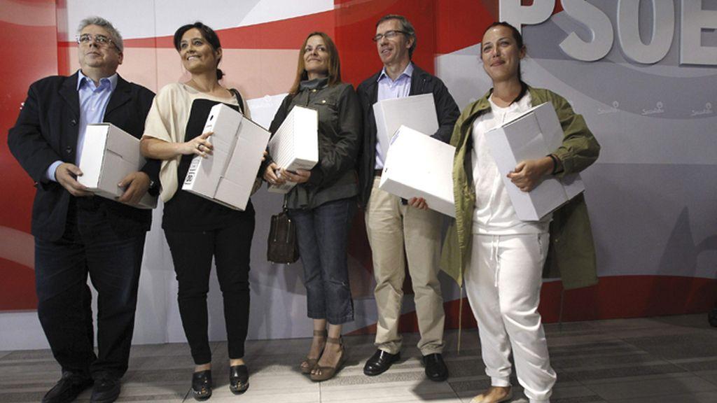 Madina presenta los avales para luchar por el liderazgo del PSOE