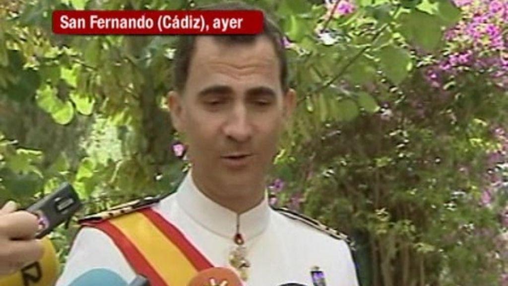 Los príncipes de Asturias viajarán a Sudáfrica