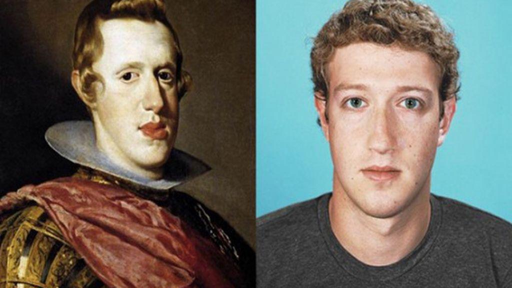 El Rey Felipe IV de España y Mark Zuckerberg