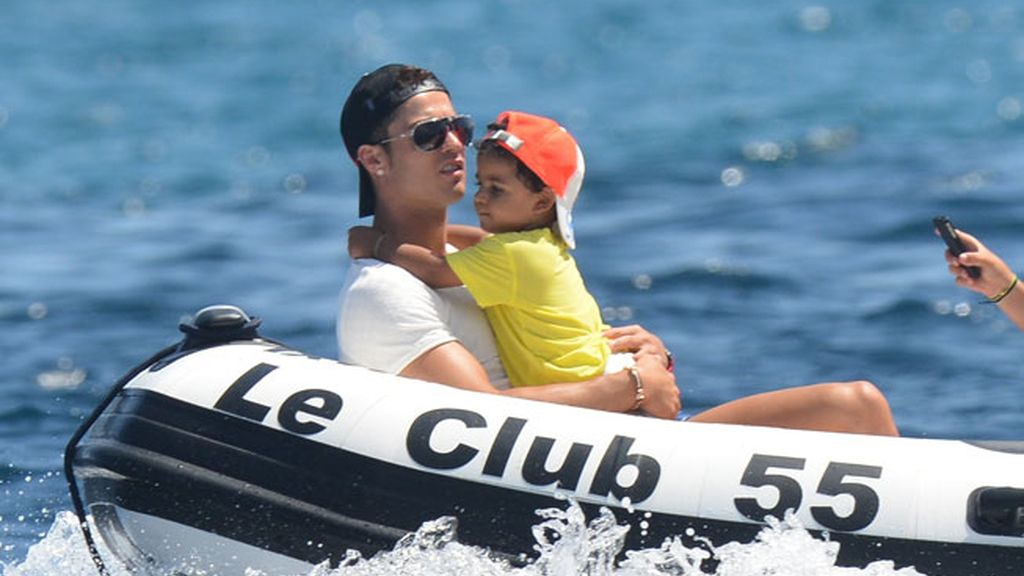 Cristiano Jr, el hijo de Cristiano Ronaldo