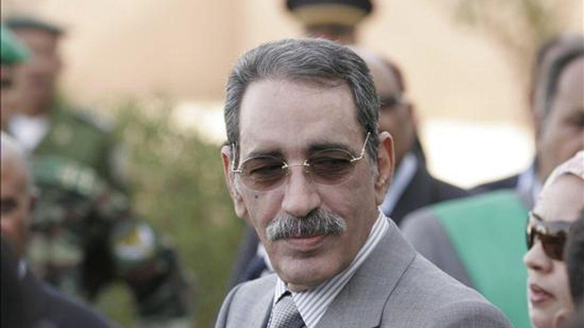 El ex presidente mauritano y candidato en las próximas elecciones presidenciales Ely Uld Mohamed Vall. EFE/Archivo