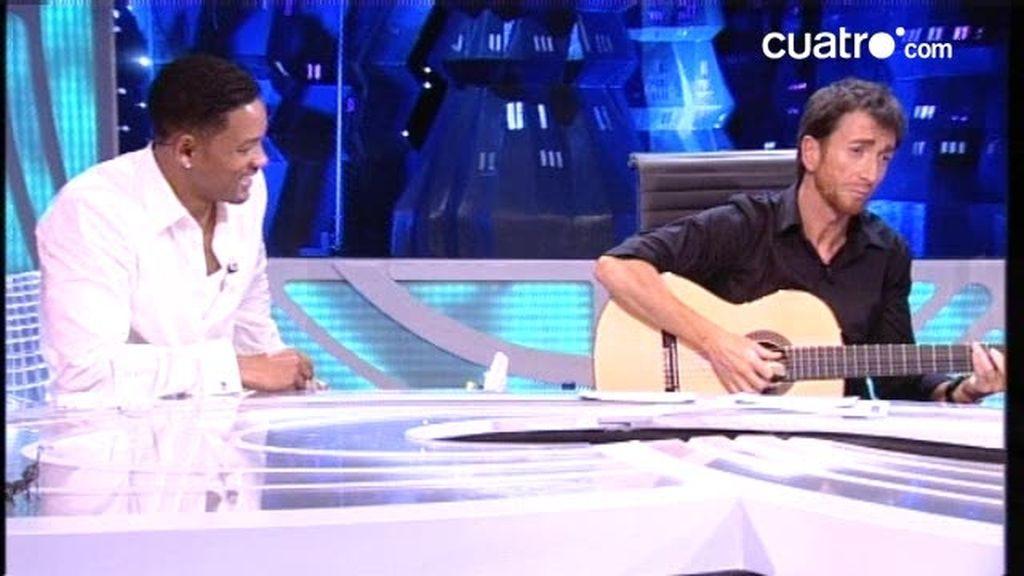 Will Smith, su mujer, su hijo y Jackie Chan cantan en directo Don Pepito y Don José