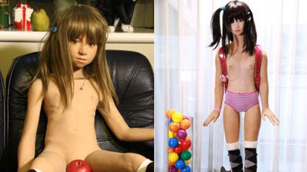 Polémica por la empresa que crea muñecas sexuales para pedófilos