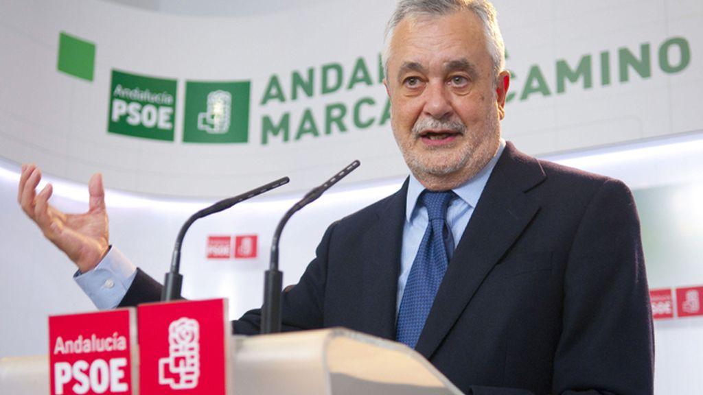 Griñán hace balance político del año 2012