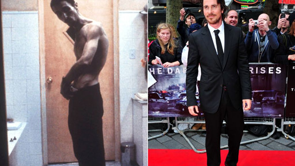 Christian Bale, 28 kilos
