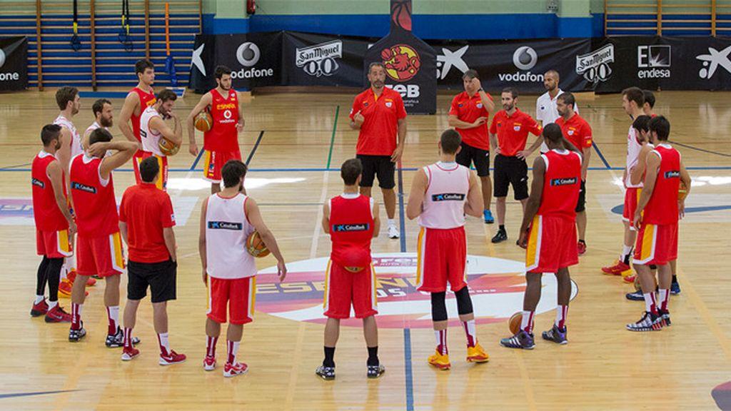 Selección España baloncesto española