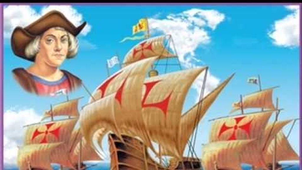 Cristóbal Colon,carabelas,La Pinta,la Niña y la Santa María