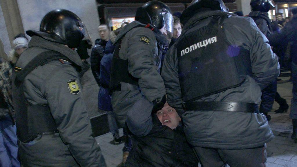 Protestas contra el resultado electoral