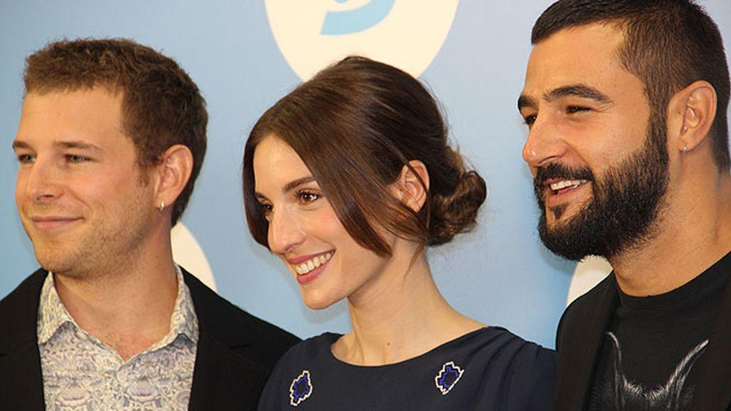 Los actores presentan la nueva miniserie de Telecinco