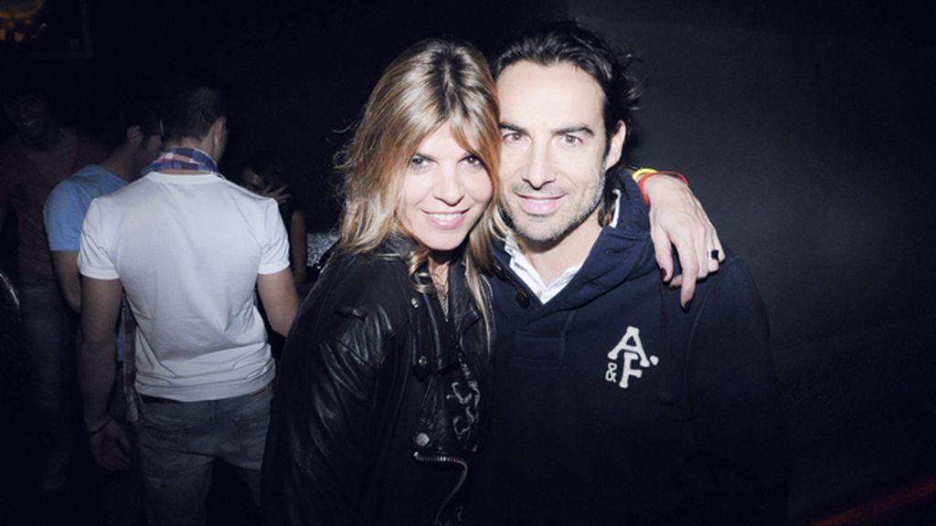 Arancha de Benito y su novio, Nacho Barroso