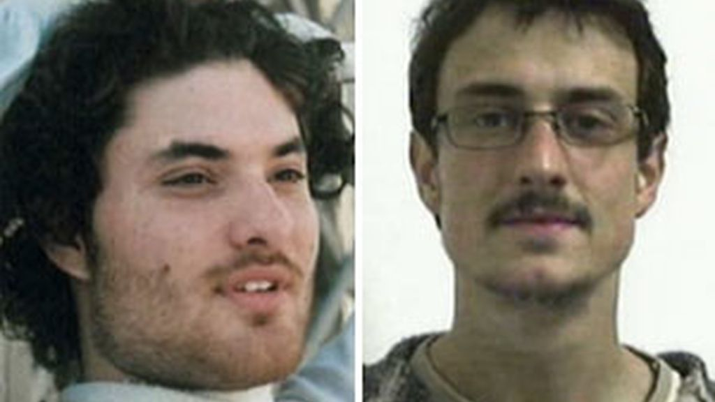 Foto de los dos jóvenes estudiantes asesinados en Londres.