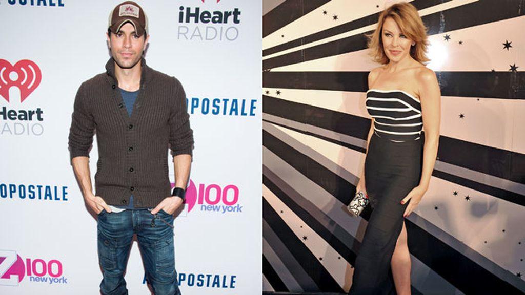 Enrique Iglesias sacará un tema a dúo con Kylie Minogue