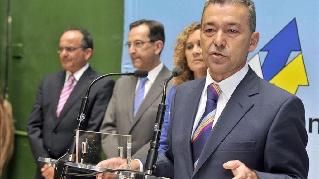 El candidato de Coalición Canaria-PNC-CCN al Parlamento de Canarias Paulino Rivero. EFE/Archivo