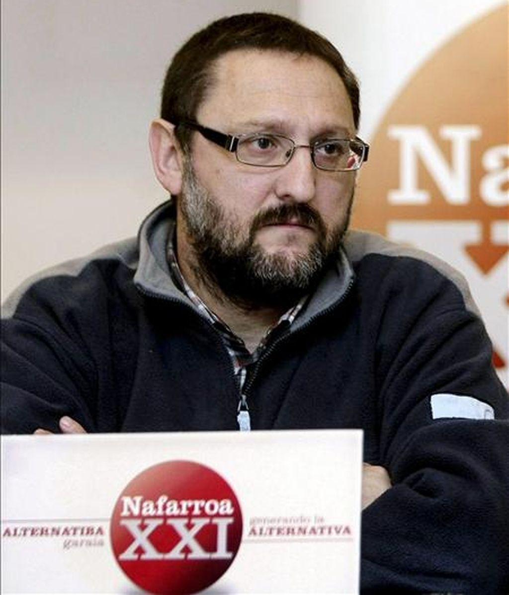 El portavoz de la izquierda abertzale Txelui Moreno. EFE/Archivo