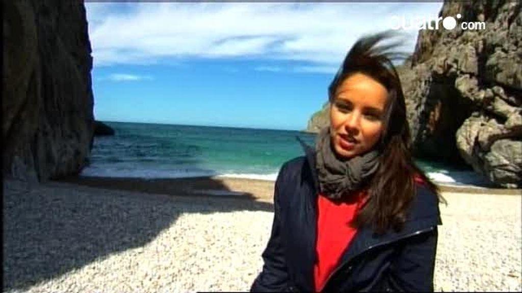 Chenoa se siente libre en la isla de Mallorca
