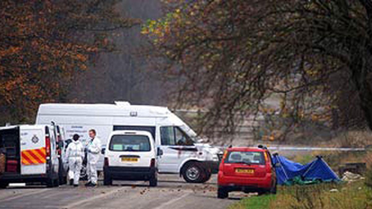 Imagen donde fue hallado el cadaver. Foto: The Times.