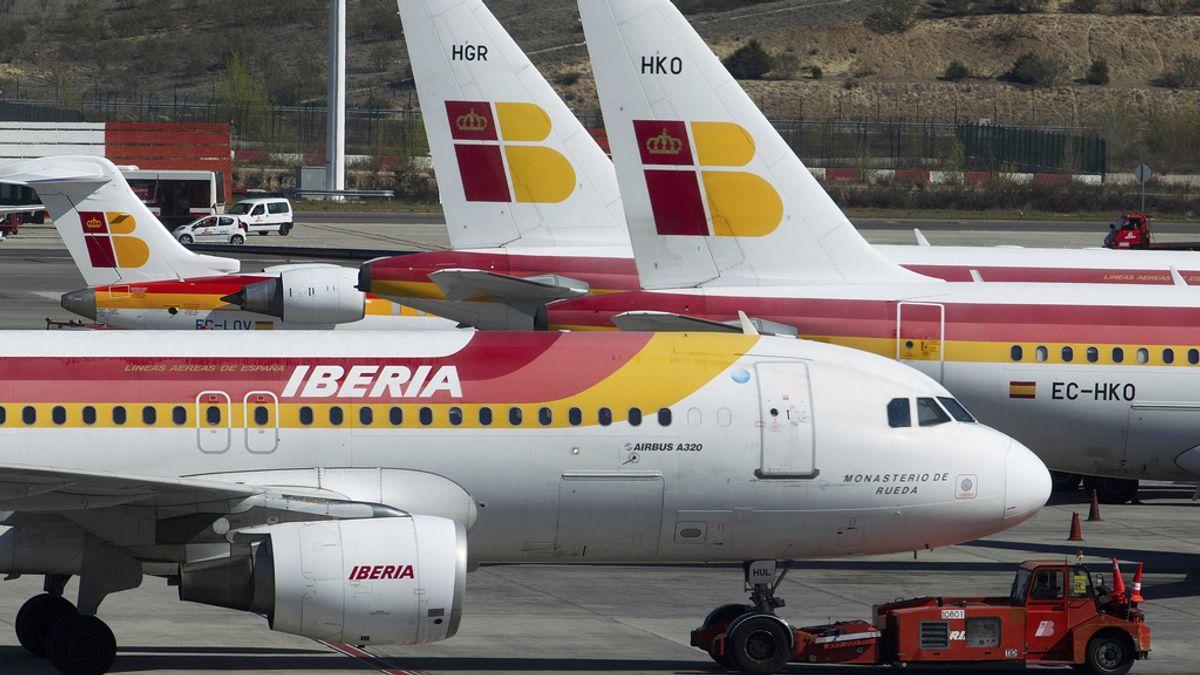 Avión de Iberia. Foto: Gtres