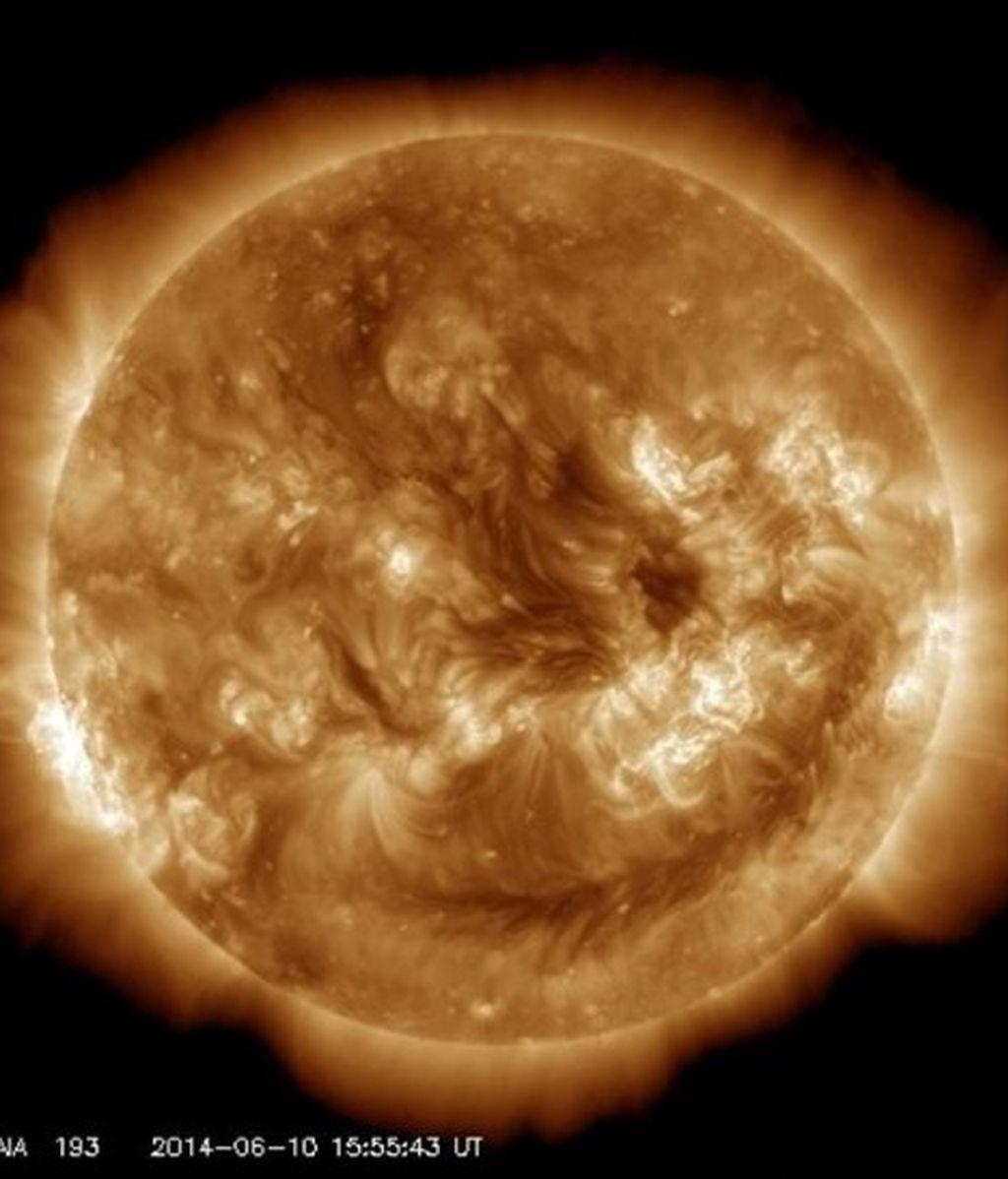 El Sol registra dos erupciones de magnitud muy importante