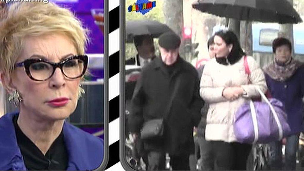 Karmele Marchante ve por primera vez a su ex desde que anunciara su separación