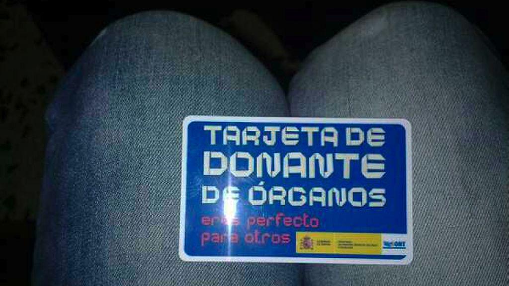 La tarjeta de Arantza