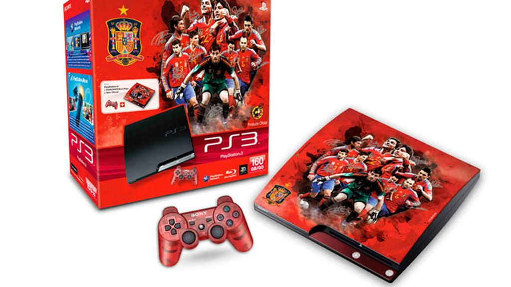 Play Station edición especial de La Roja