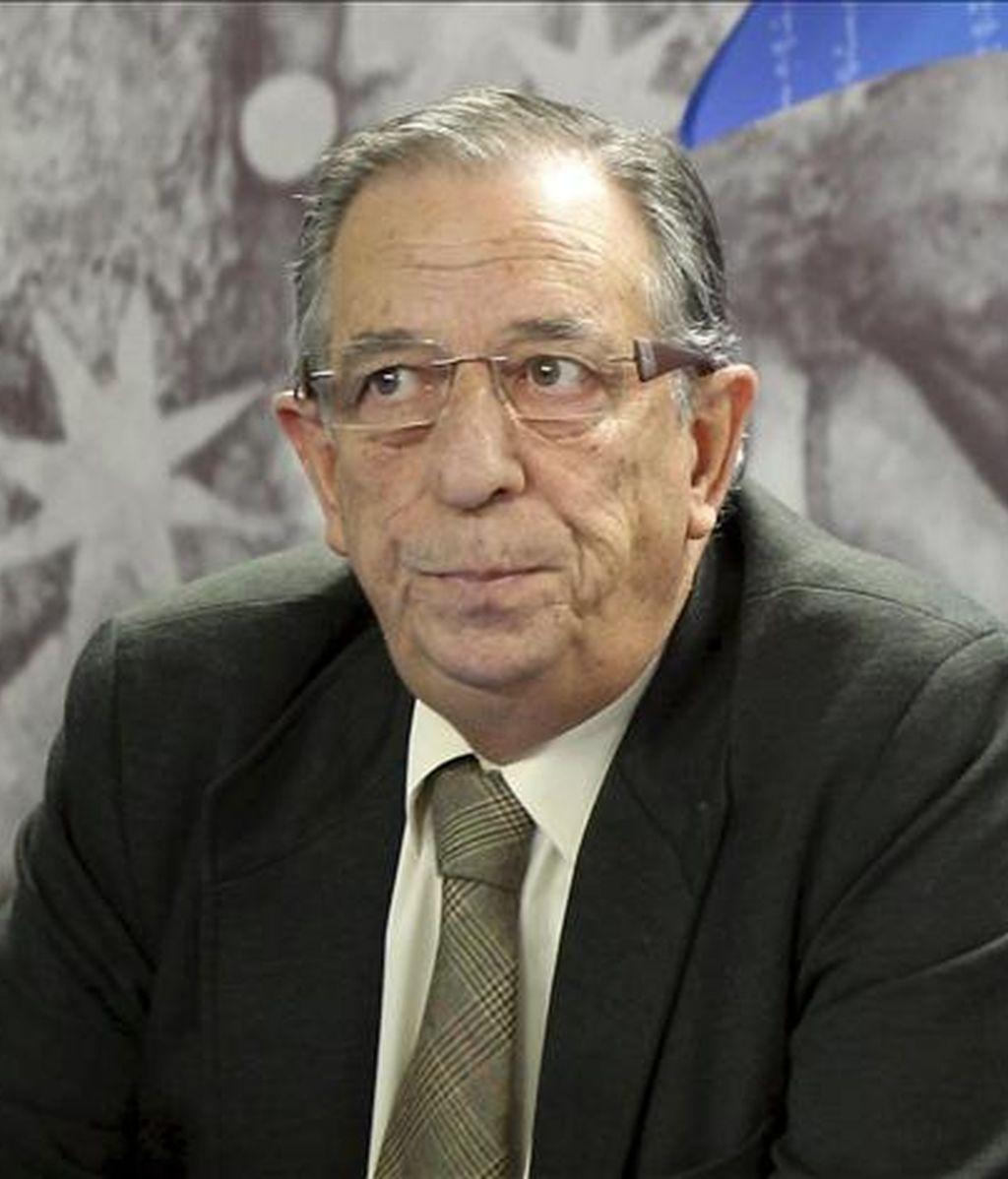 El presidente del Instituto Castellano y Leonés de la Lengua, Gonzalo Santonja. EFE/Archivo