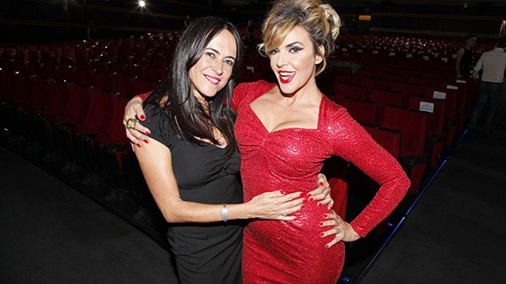 Clara Fernández de Loaysa con Silvia Superstar