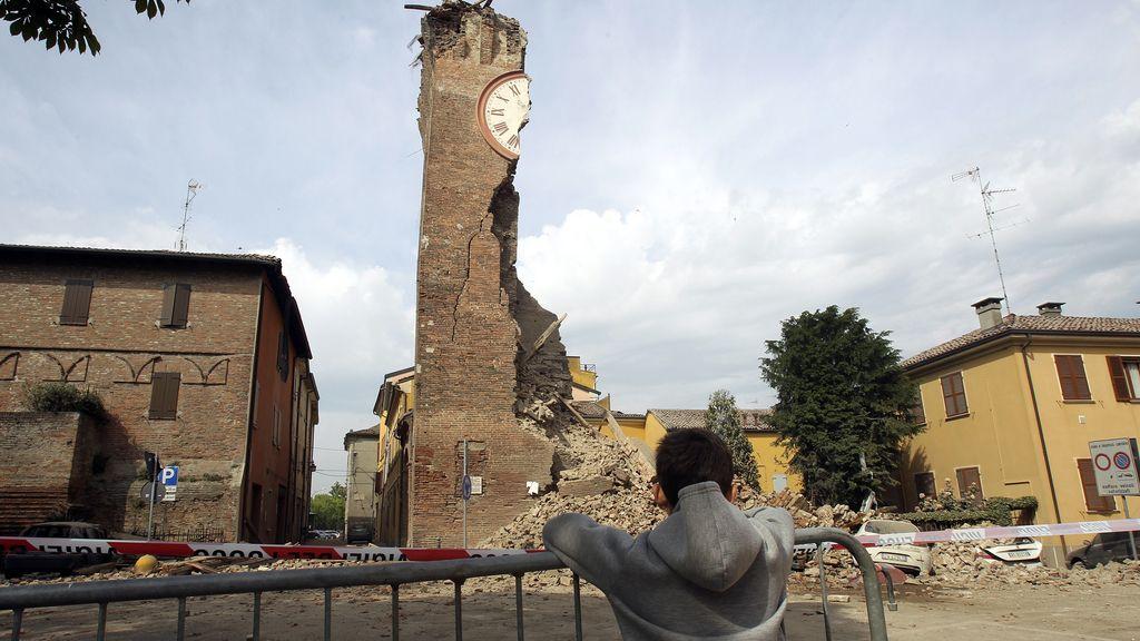 Imágenes de los terremos de Italia