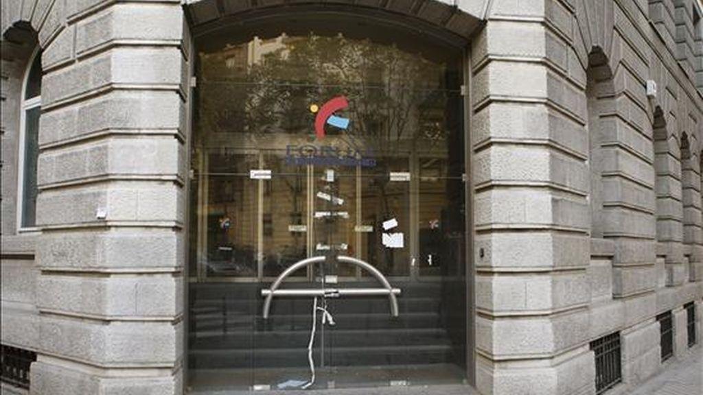 Exterior de la sede de Fórum Filatélico en Madrid. EFE/Archivo