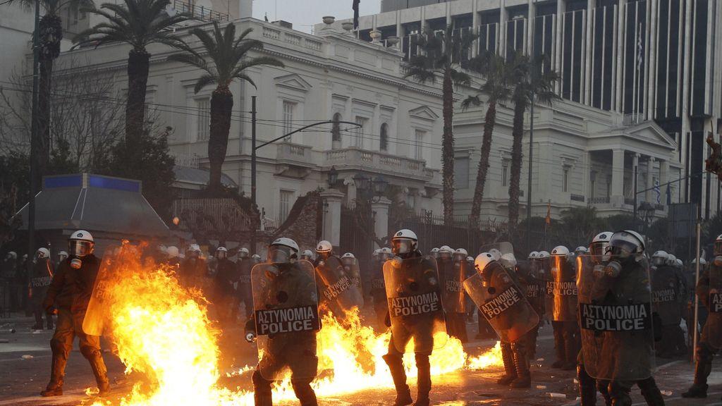 Arde Grecia