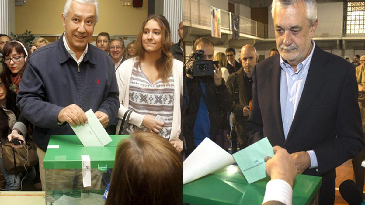 Votan Griñan y Arenas (EFE)